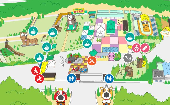 園内サービスマップ